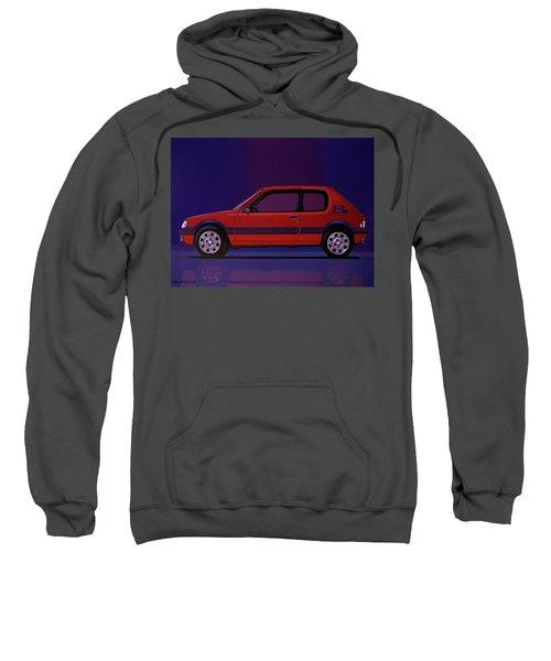 Peugeot 205 Gti 1984 Painting Sweatshirt