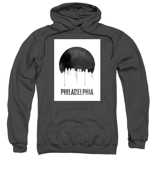 Philadelphia Skyline White Sweatshirt