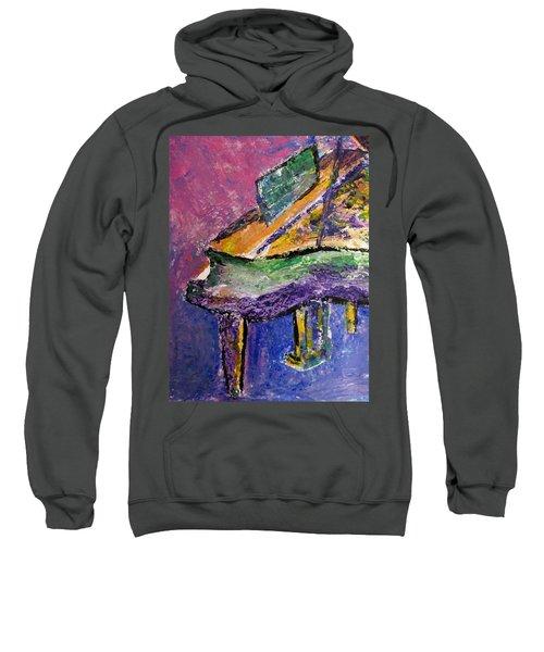 Piano Purple - Cropped Sweatshirt