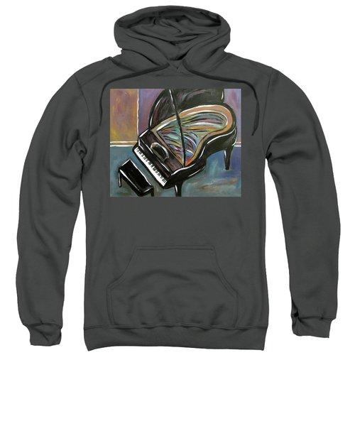 Piano With High Heel Sweatshirt