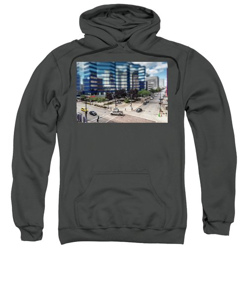 Pick-up Truck In The Itty-bitty-city Sweatshirt
