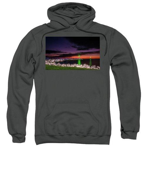 Pier And Lighthouse Sweatshirt
