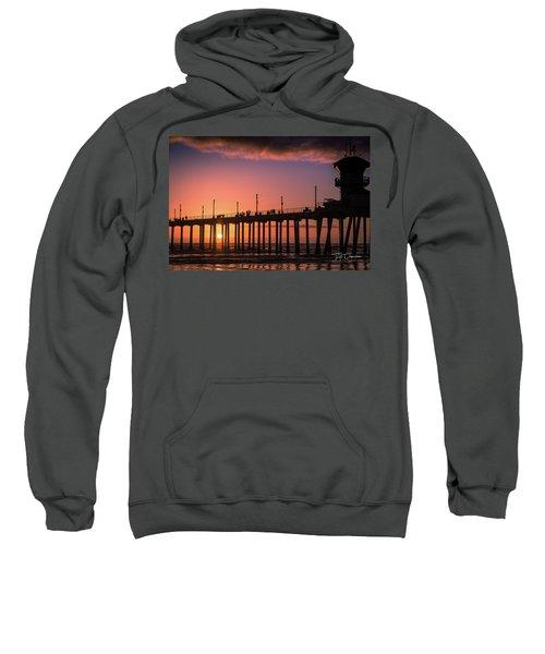 Pier At Sunset Sweatshirt