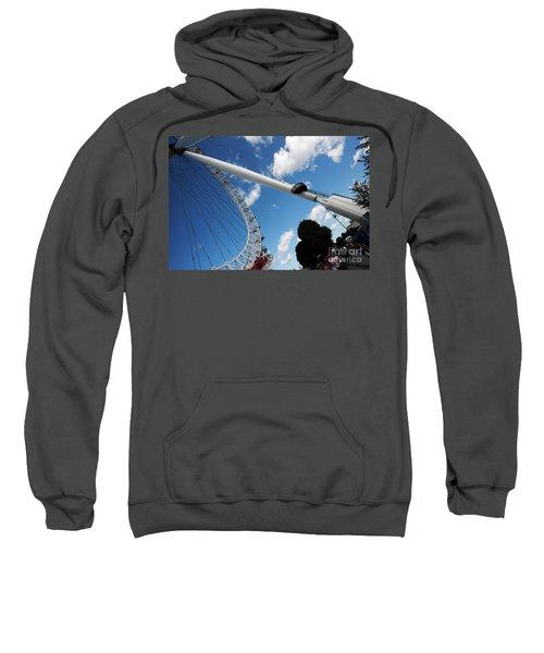 Pillar Of London S Ferris Wheel  Sweatshirt