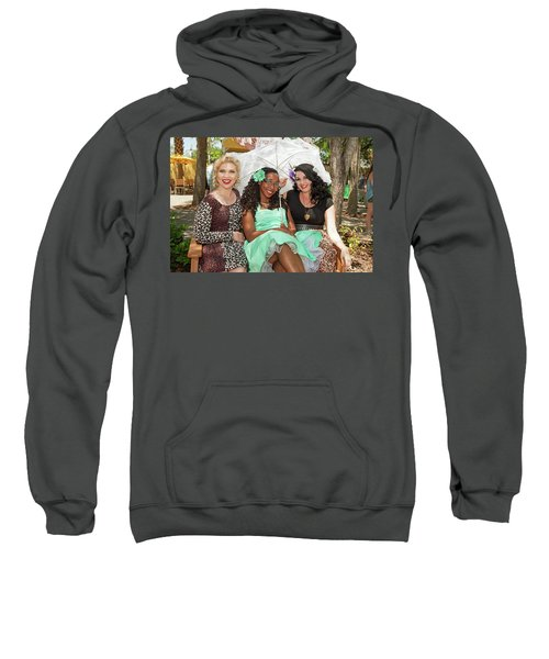 Pin-ups At The Zoo Sweatshirt