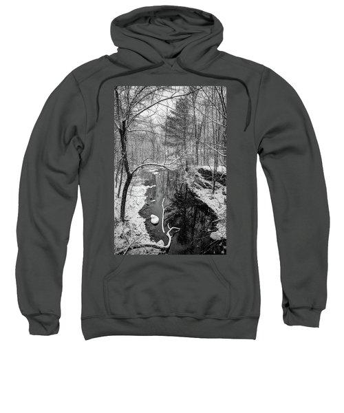 Pine Reflection On The Sheepscot Sweatshirt