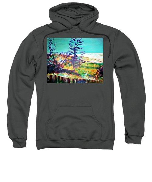 Pine Tree Pandanus Sweatshirt by Winsome Gunning