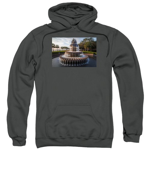 Pineapple Fountain Charleston Sunrise Sweatshirt