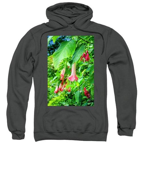Pink Bell Flowers Sweatshirt