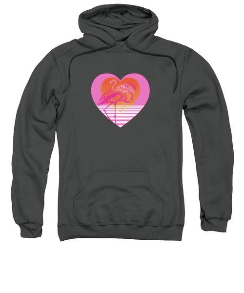 Pink Flamingos Sweatshirt