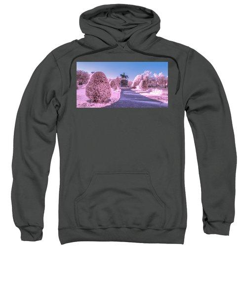 Pink Garden Sweatshirt