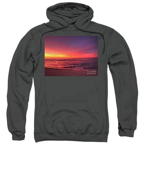 Pink Lbi Sunrise Sweatshirt