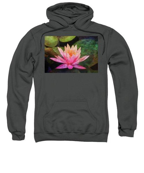 Pink Lotus 4134 Idp_2 Sweatshirt