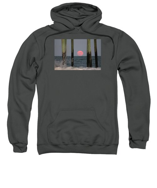 Pink Moon Rising Sweatshirt