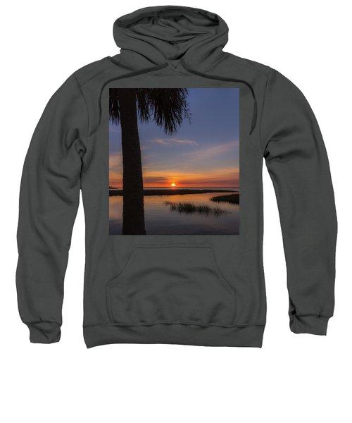 Pitt Street Bridge Palmetto Sunset Sweatshirt