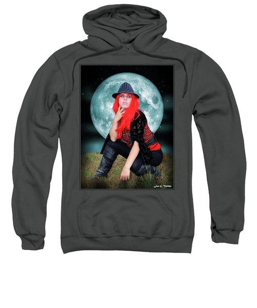 Pixie Under A Blue Moon Sweatshirt