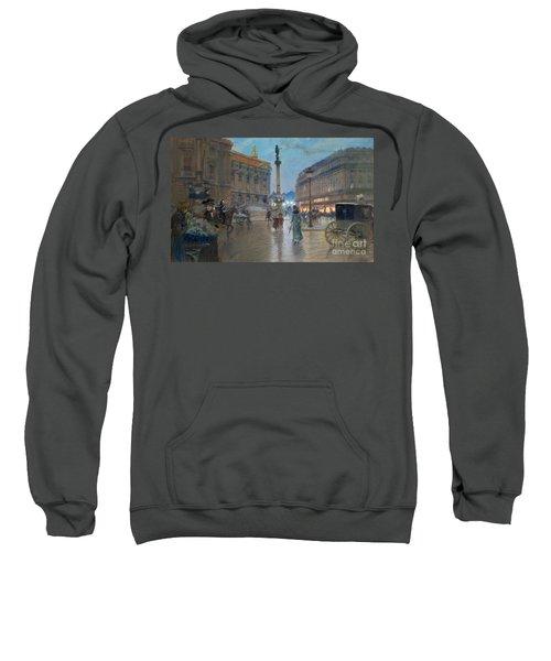 Place De L Opera In Paris Sweatshirt
