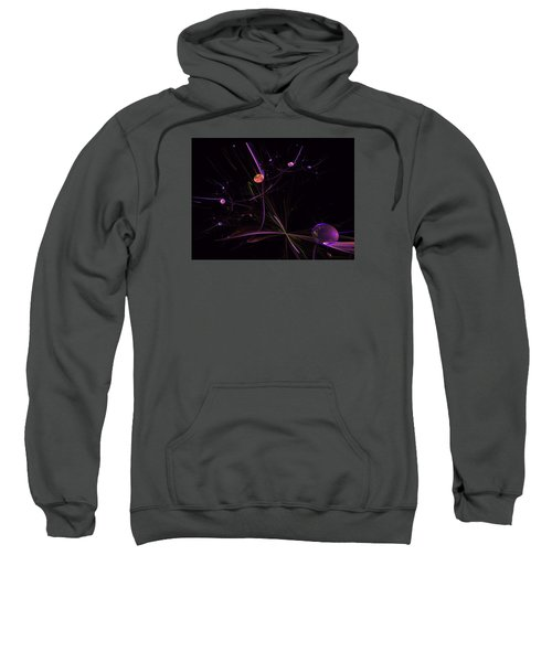 Planets And Space Energies Sweatshirt