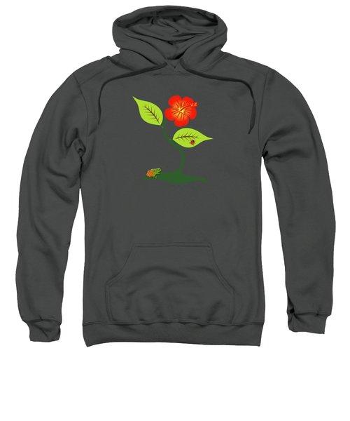 Plant And Flower Sweatshirt by Gaspar Avila