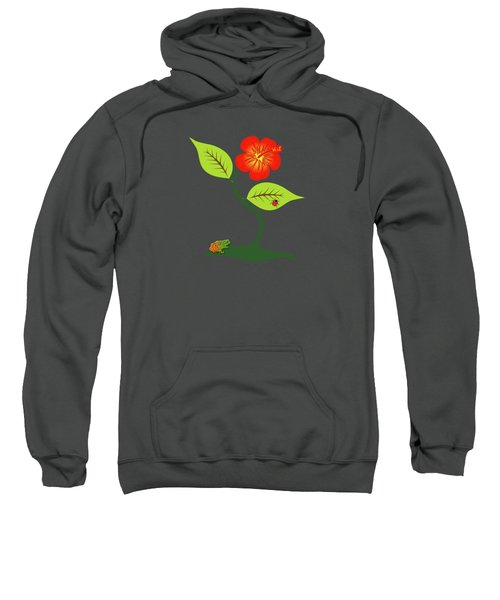 Plant And Flower Sweatshirt