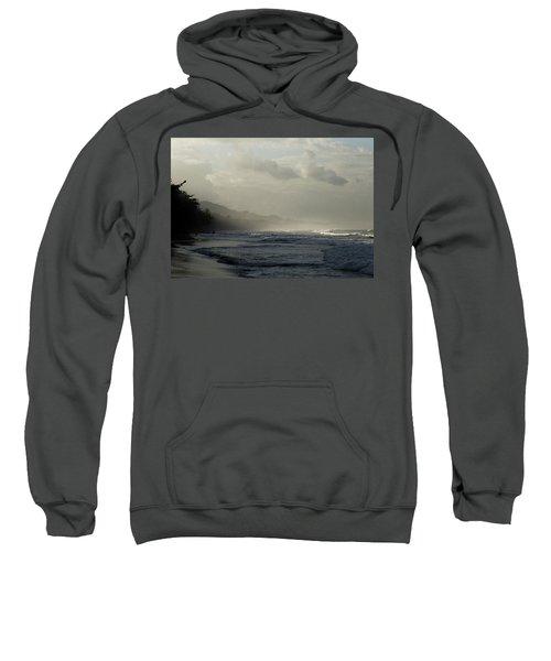 Playa Negra Beach At Sunset In Costa Rica Sweatshirt