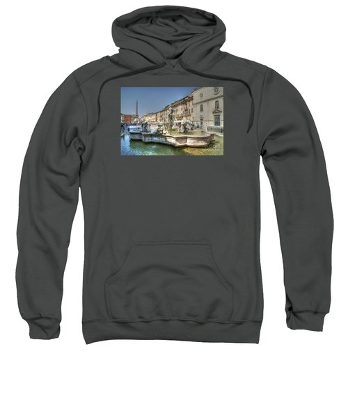 Plaza Navona Rome Sweatshirt