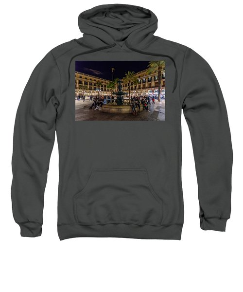 Plaza Reial Sweatshirt by Randy Scherkenbach