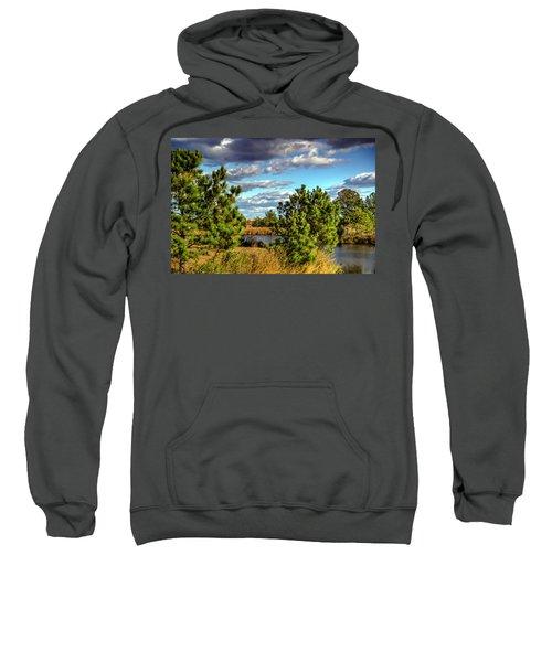 Pleasure House Point Natural Area  Sweatshirt