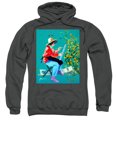 Plein Air Painter  Sweatshirt