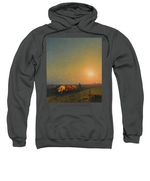 Ploughing The Fields. Crimea Sweatshirt