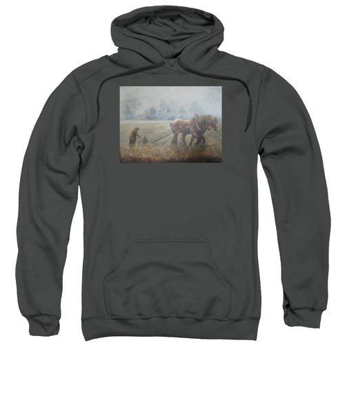 Plowing It The Old Way Sweatshirt