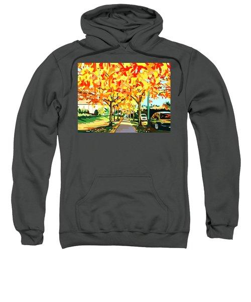 Plumes Of Leaves Sweatshirt
