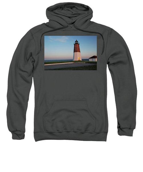 Point Judith Lighthouse Rhode Island Sweatshirt