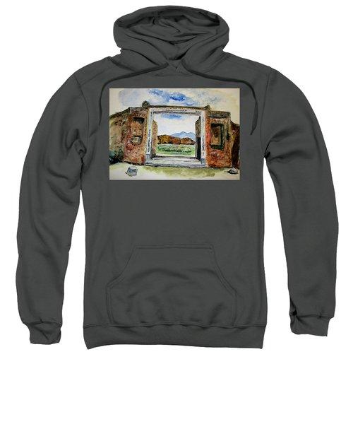 Pompeii Doorway Sweatshirt