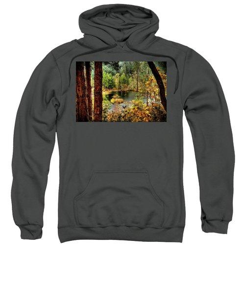 Pond At Golden Or. Sweatshirt