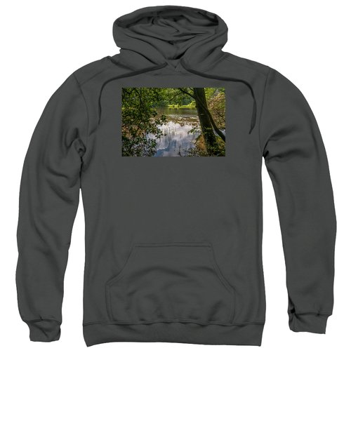 Pond In Spring Sweatshirt