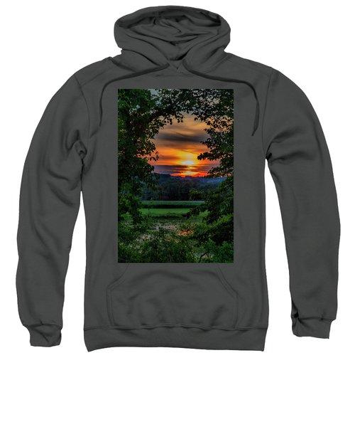 Pond Sunset  Sweatshirt