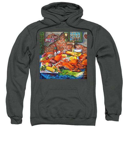 Pontchartrain Crabs Sweatshirt