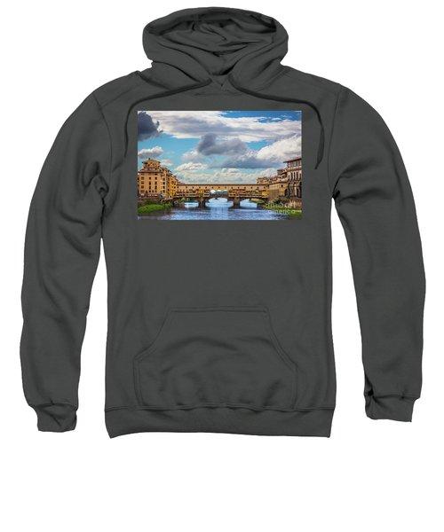 Ponte Vecchio Clouds Sweatshirt