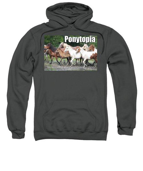 Ponytopia Saying Sweatshirt