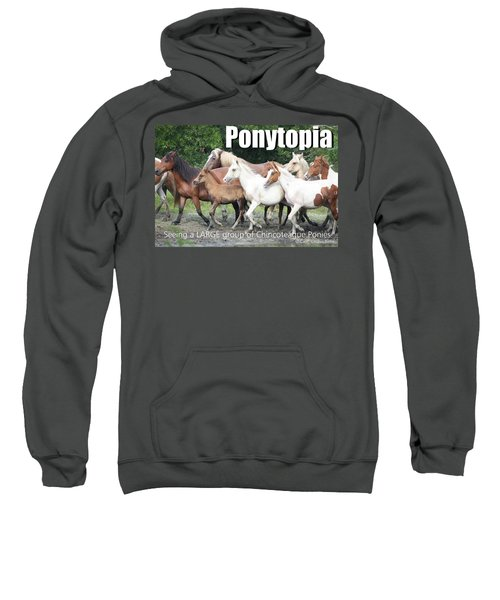 Ponytopia Saying Sweatshirt