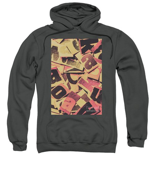 Pop Art Press Sweatshirt