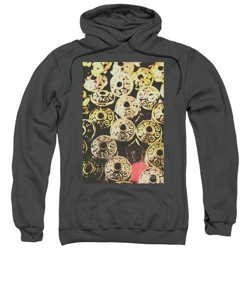 Pop Art Space Invaders Sweatshirt