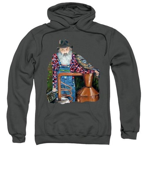 Popcorn Sutton Moonshiner - Tshirt Transparent Torso Sweatshirt