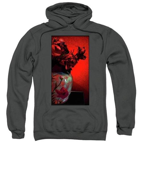 Poppies And Roses Sweatshirt