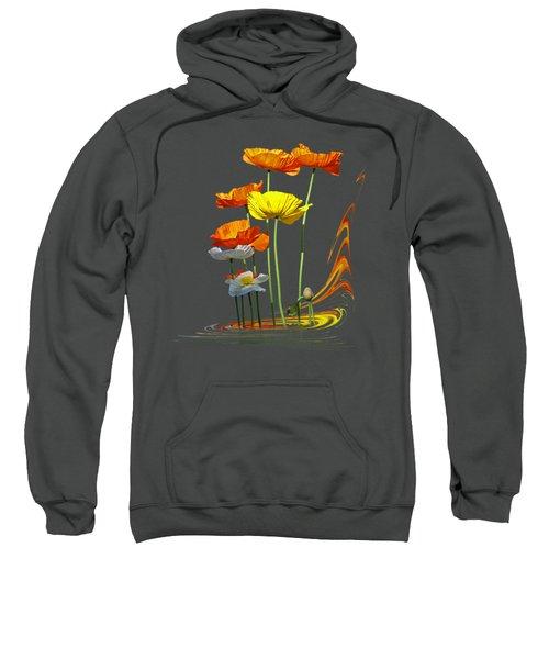Poppy Pirouette Vertical Sweatshirt
