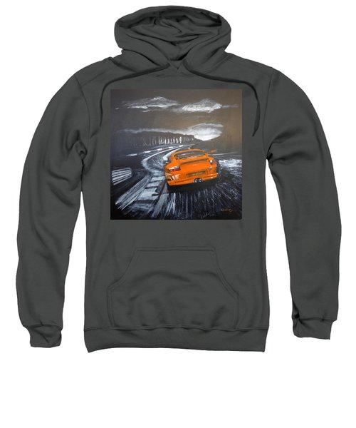 Porsche Gt3 @ Le Mans #3 Sweatshirt