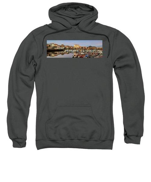 Port Of Ferrol Galicia Spain Sweatshirt