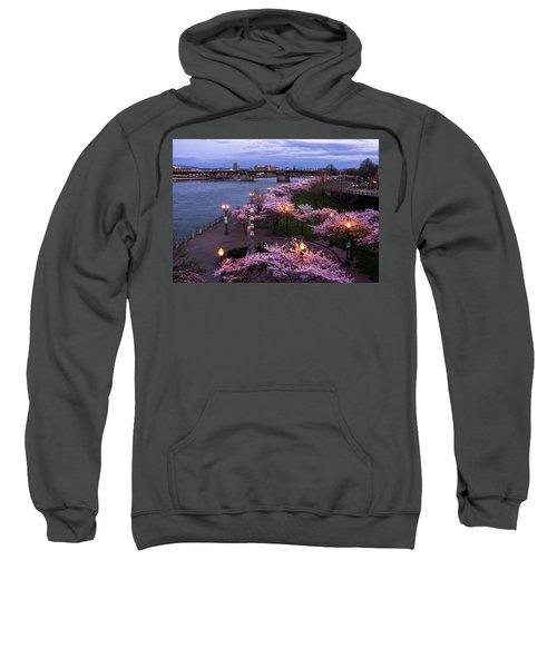 Portland Cherry Blossoms Sweatshirt