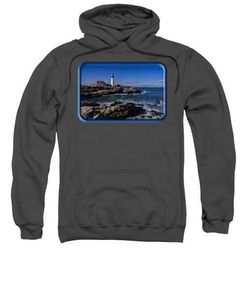 Portland Head Light No.32 Sweatshirt by Mark Myhaver